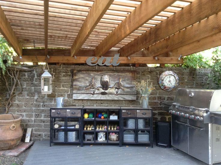 Mejores 123 imágenes de Outdoor kitchen ideas /corrugated steel ...