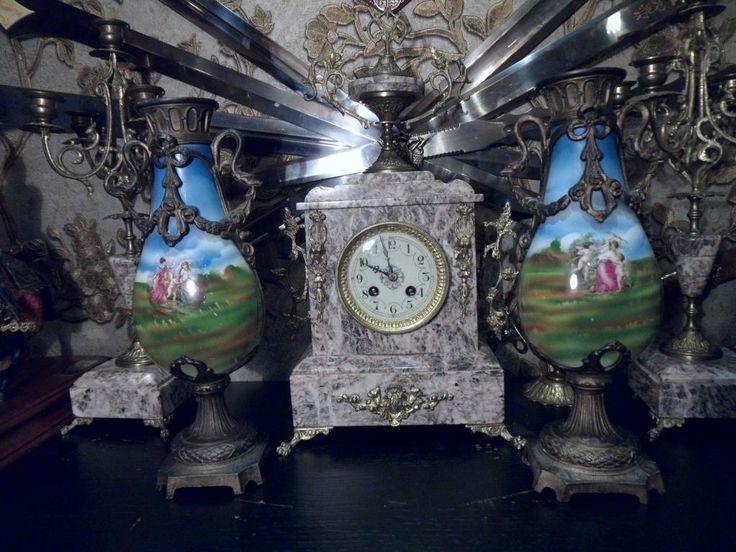 Фарфор. Антикварные вазы.