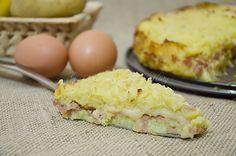 Torta di patate e mortadella, ricetta sfiziosa
