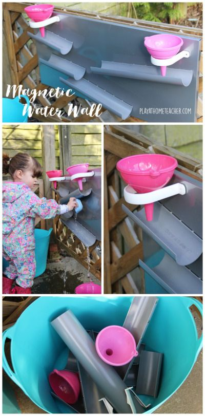DIY Magnetic Water Wall Pinterest