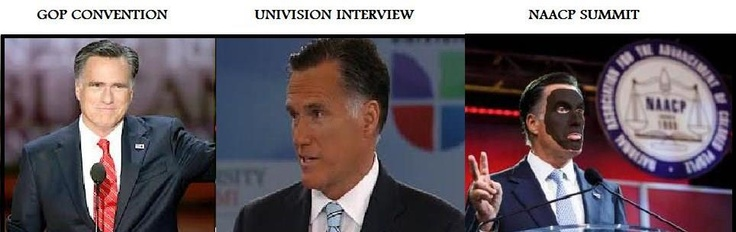 The Liberal Memeplex: Mitt Romney's Latino Spray Tan [VIDEO]