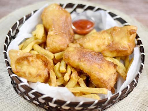 Fish and Chips (la vraie pâte à friture anglaise) - Recette de cuisine Marmiton…