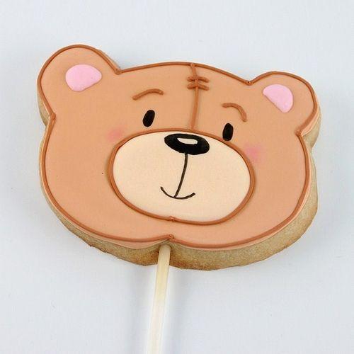 Teddy Bear Cookies for a Corduroy, teddy bear picnic or other bear themed party.