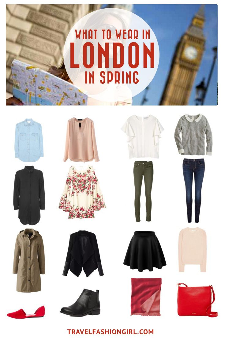 Traveling to London or other parts of the UK in the Spring? Use this comprehensive packing guide to help you pack stylishly light. | travelfashiongirl.com