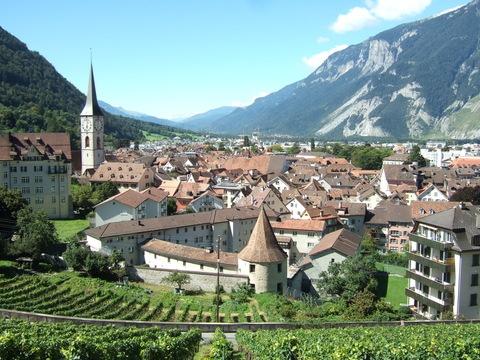 La ciudad de Chur, #Suiza #switzerland