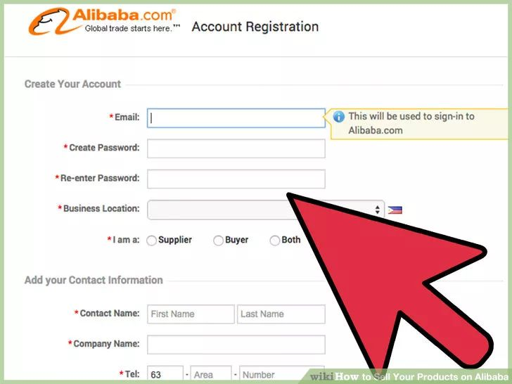 Image titled Sell Your Products on Alibaba Step 3