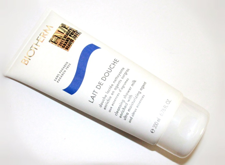 Beauty Reflections: The Ultimate Shower Cleanser: Biotherm Lait De Douche Cleansing Shower Milk