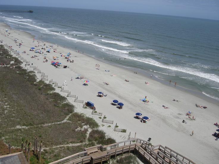 Enjoy beautiful ocean views from your room at our North Myrtle Beach resort. http://www.avistaresort.com/accommodations-en.html