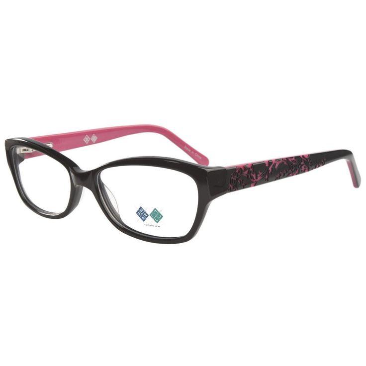 Michelle Lane ML806 Damask Pink Prescription Eyeglasses