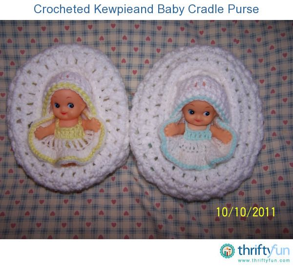 This is a guide about making a crocheted baby cradle purse. What little girl wouldn't love to carry a purse that opens up into a baby doll cradle?