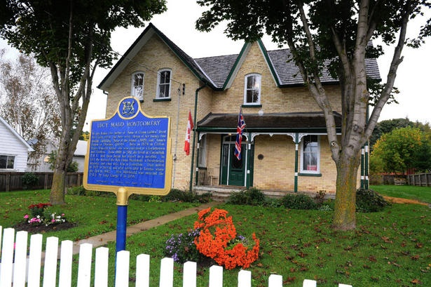 Lucy Maude Montgomery House - Leaskdale, North of Uxbridge, Ontario. Google Image Result for http://i.thestar.com/images/5f/2d/1f64a05e4c008cc942d96b5d98b0.jpeg