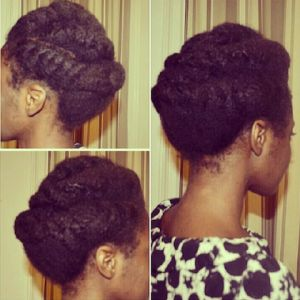 Great tips on maintaining and growing 4C/4B type hair.