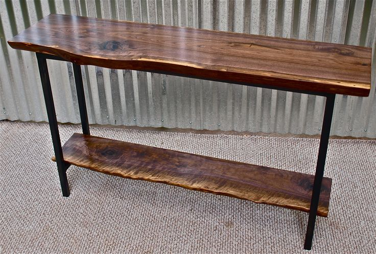 9 best images about tables on pinterest vintage for Sofa table metal