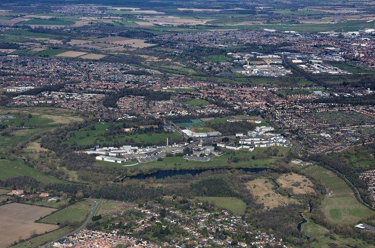 Around Norwich outskirts from the UEA to the airport | by John D F