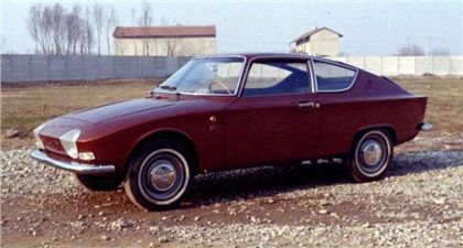 1964 / One of TWO / Fiat 850 Z Coupe (Zagato) / Highest rating of the model  year boasting a 17 clown capacity, an all time record for FIAT.