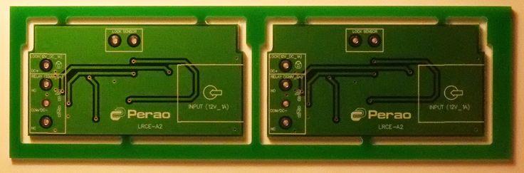Платы контроллера замка Perao LCR (Версия 2). Позволяет контролировать состояние замка (двери, открыта/заперта), возможность регулировки громкости сигнала. Предлагается в обычном и всепогодном исполнении. Подробнее: http://www.perao.ru/services/detail/324/
