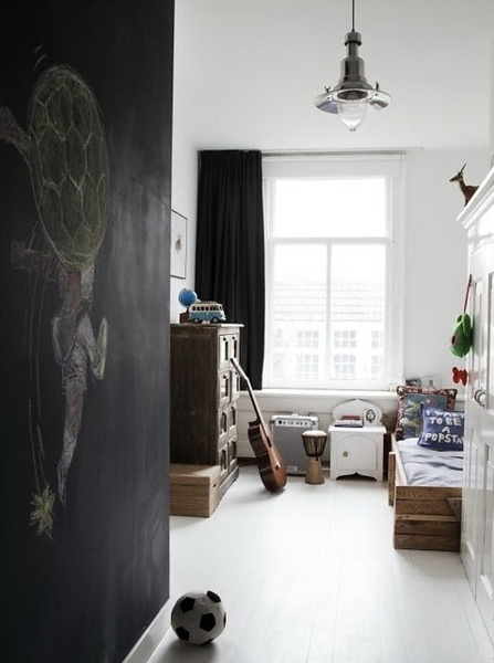 Would love to find a wall to paint as chalkboard