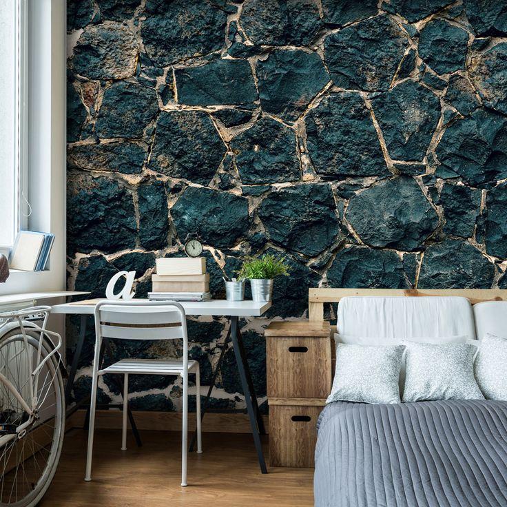 Die besten 25+ Tapete steinoptik Ideen auf Pinterest Steinoptik - backstein tapete wohnzimmer