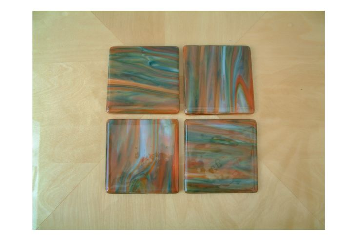 Beautiful woodland colours in this coasters.