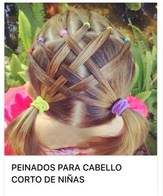 Pin von Mona auf Girl's Hairdo | Kinder haar ...