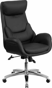 This Contemporary Office Chair Features Fully Upholstered Arms And An Outer  Lumbar Pillow That Provides Excellent Support. Finding A Comfortable Chair  Is ...