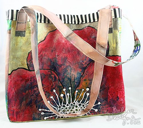 turn paintings into a tote | balzer designs