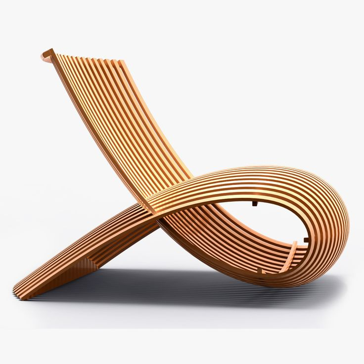 Wooden Chair By Marc Newson Cappellini Arredamento