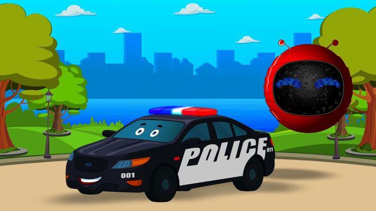 경찰 차 | gyeongchal cha | Zobic - Police Car #zobicpolicecar #kidsvideo #childrenvideo #babyvideo #education #entertainment #parenting