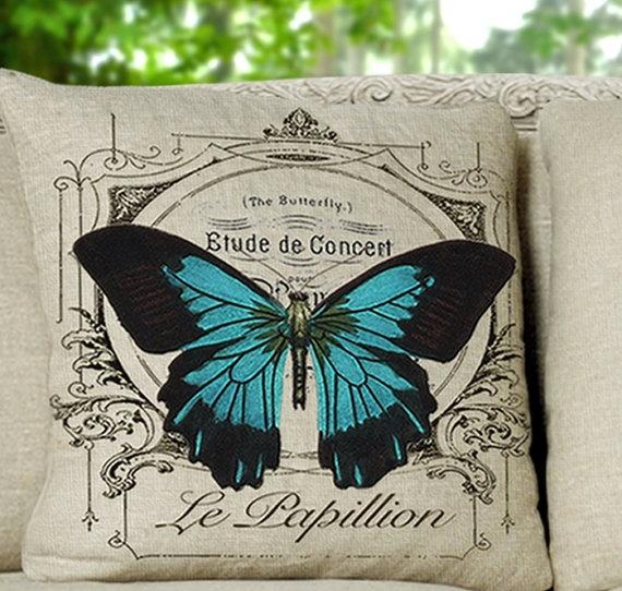 Le Papillion Butterfly: Pillows Covers, A Pillows Ideas, Butterflies 20X20, Le Papillion, Aprend Manualidades, Pillow Covers, 14X14 Inch, Butterflies Pillows, Papillion Butterflies