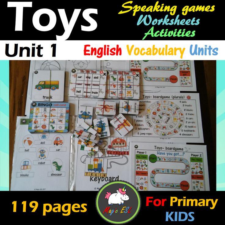 Toys ESL Unit  119 pages