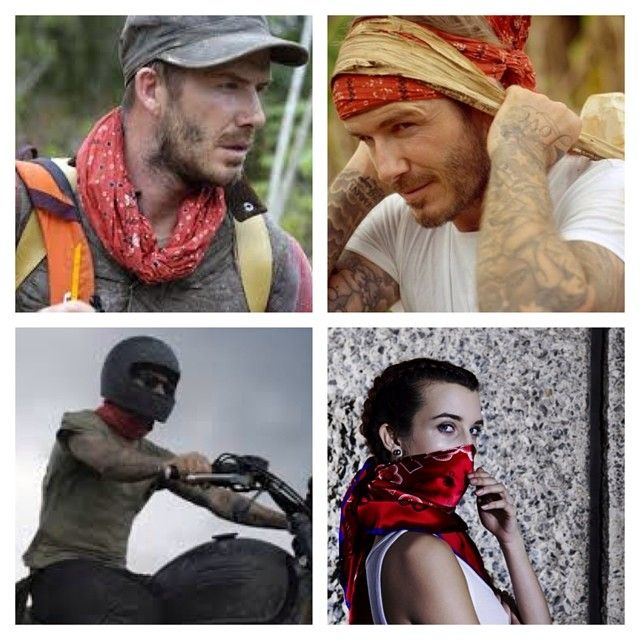 Who enjoyed David Beckham in the show Into The Unknown on BBC1 last night? WE DID!!! We especially liked him rocking a red bandana throughout the show. We hope it was made from silk? #davidbeckhamintotheunknown #triumph #bandana #silkbandana #silkscarves #elly www.thesilkvault.com