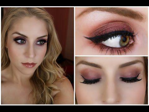 Fall Look | Purple and Orange Smoky Eye (Morphe Shadows) - YouTube Sam Souza is amazing!!!!