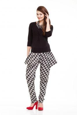 Maternity Trousers ELECTRA/Spodnie ciążowe ELECTRA http://maternity.com.pl/pl/p/Spodnie-ciazowe-ELECTRA-w-czarno-biala-pepitke/1362