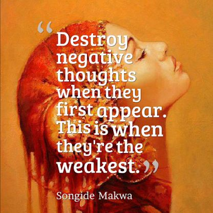 Negative thoughts.  and don't breathe life into them.  quotes. wisdom. advice. life lessons.