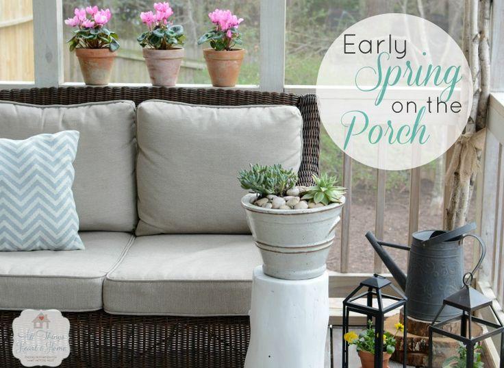 148 best Spring Porch Decorating Ideas images on Pinterest | Flower ...
