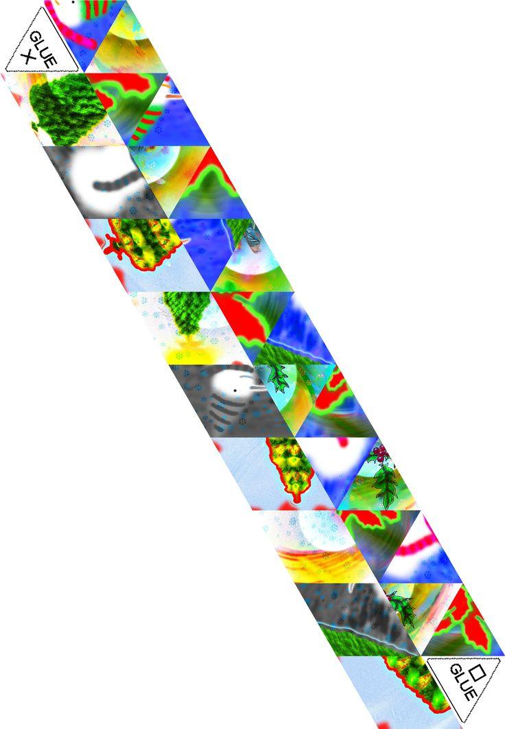 44 Bästa Bilderna Om Hexaflexagon På Pinterest | Attic 24, Mönster