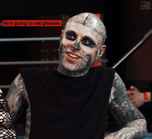 WATCH: Zombie Boy Rick Genest Covers Up His Tattoos | The