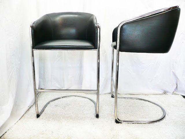 7 18 13 Dunbar Edward Wormley Cane Dining Chairs