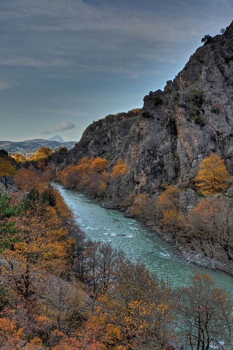 Aoos Gorge, Konitsa