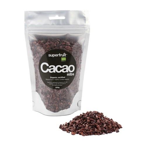 Cacao nibs m. mørk chokolade Superfruit