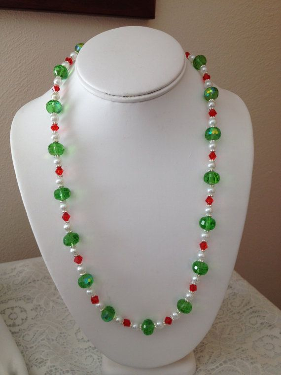Christmas Necklace by karlajophoto on Etsy, $25.00