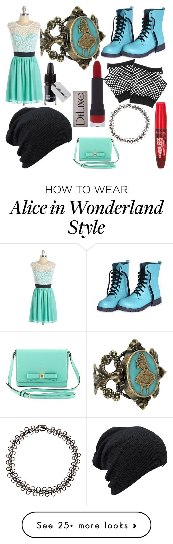 """Untitled #179"" by becca-h-c on Polyvore featuring moda, Disney, Forever 21, Rimmel, H&M y Kate Spade"