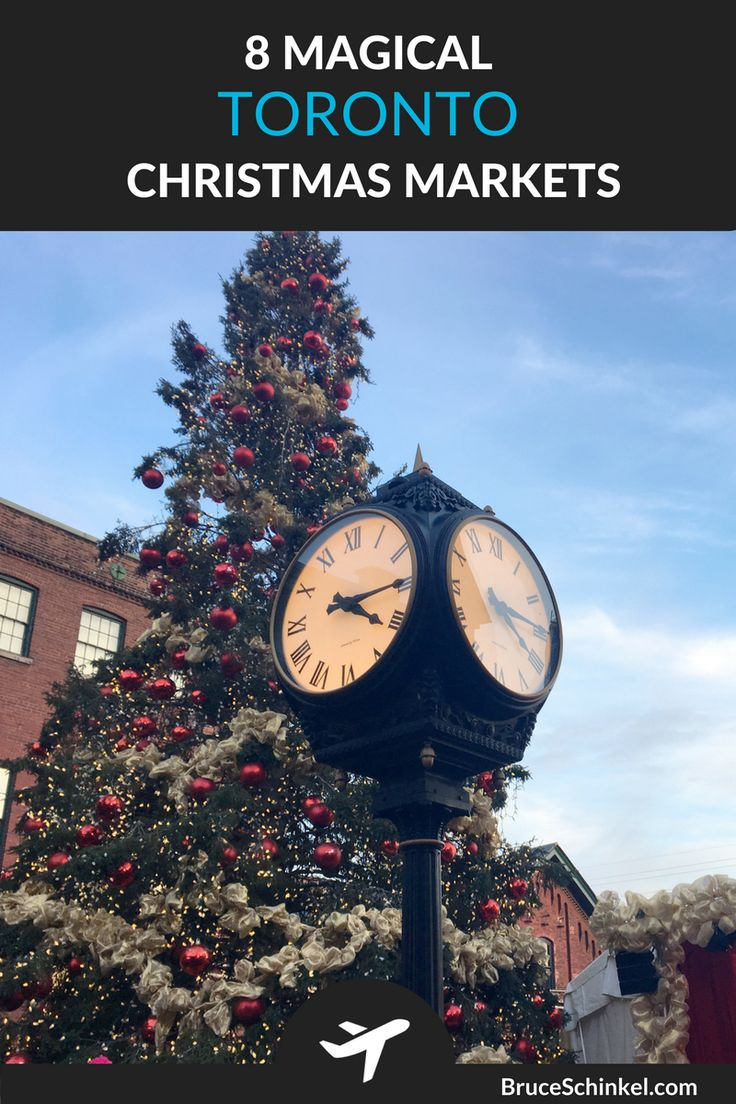 What's your favourite way to enjoy the Christmas Season?  I love exploring the Toronto Christmas Markets!  In this post I take you to 8 magical experiences that should be on your list.  Click Here and let me know if I missed your favourite | Christmas things to do in Toronto | Toronto Christmas | Distillery District Toronto |