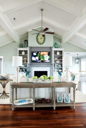 best 20+ vaulted ceiling decor ideas on pinterest | coffee bar