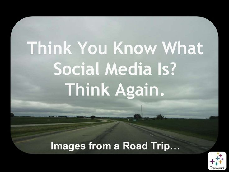 Think You Know What Social Media Is? Think Again. Using images from a road trip, this photo essay demonstrates that social media is about more than digital technology. The essay strives to demystify social media and get people to think more broadly about it & its economic & social roles. Providing this perspective on digital manifestations of social media should help everyone from rookies to mavens, detractors to advocates, understand that today's social media isn't just novel – it's normal.