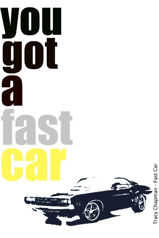 Tracy Chapman - Fast Car - Lyrics