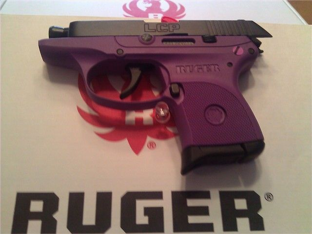 Ruger LCP 380 Purple