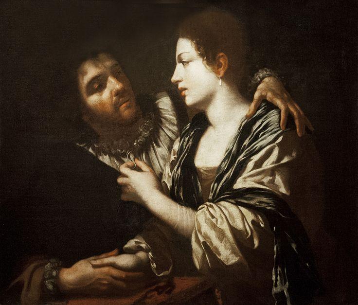 Симон Вуэ «Любовная пара» 1618 х.м. из фондов ГМИИ Симон Вуэ - французский художник, портретист и декоратор. Cчитался одним из классиков французской живописи.…