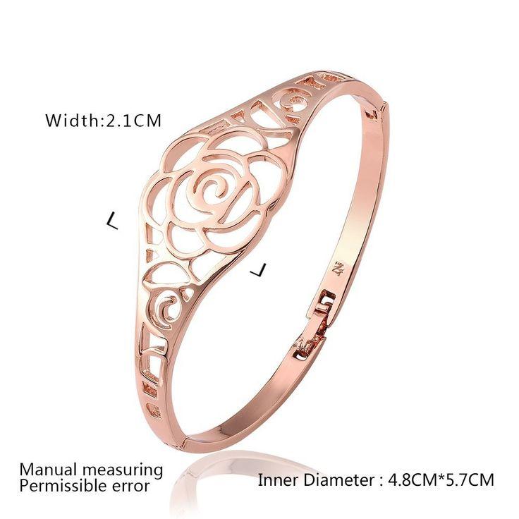 Розы украшения манжеты новый цветок браслеты Bague браслет индийские медные женщина bracciali донна повязки SZ3233купить в магазине Rose Fashion Jewelry CO., LTD.наAliExpress