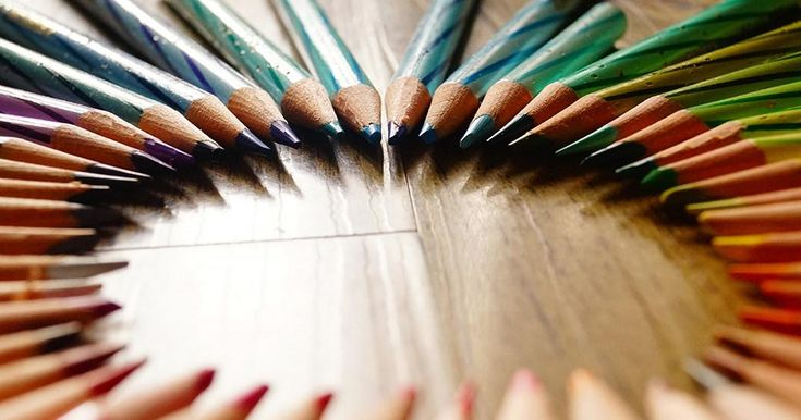8 pasos indispensables para dibujar con lápices de colores